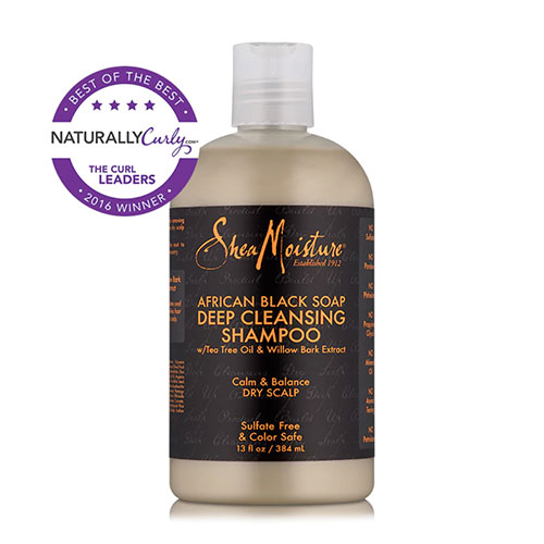 sheamoisture black soap shampoo