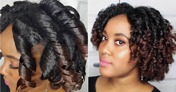 Black Hair Roller Set Styles: 12 Tips For A Perfect Roller Set On Natural Hair