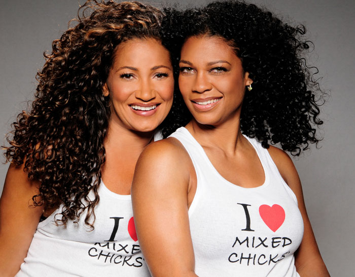 Founders of hair care brand Mixed Chicks: Kim Etheredge and Wendi Levy