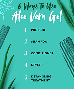 6 Ways to Use Aloe Vera Gel