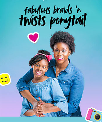 Trouble Styling Your Child's Natural Hair? We Made It Simple!