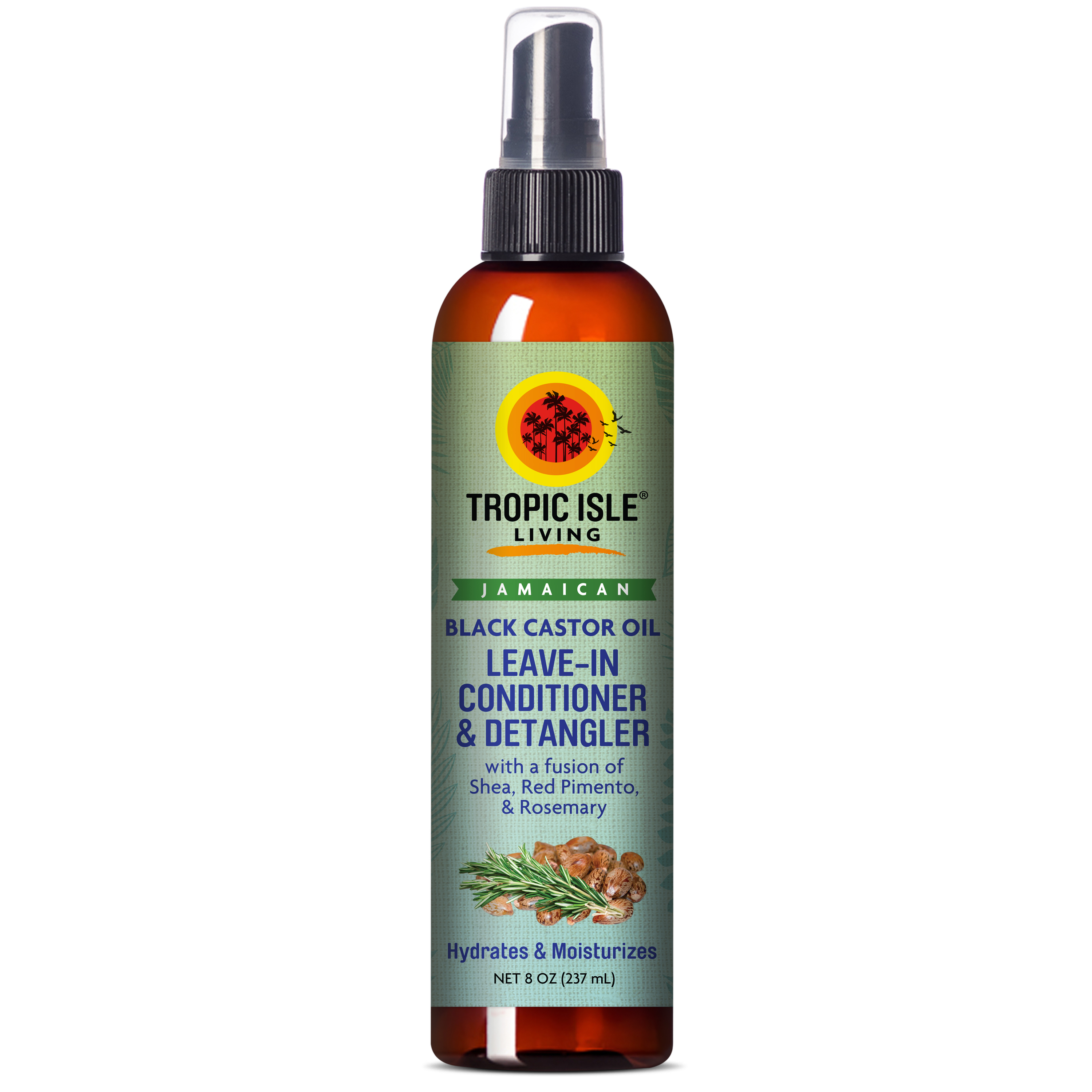 Gerilyn 4c: Tropic Isle Living- Jamaican Black Castor Oil Leave-In Conditioner & Detangler