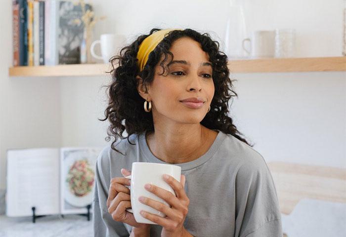 curly silk headband
