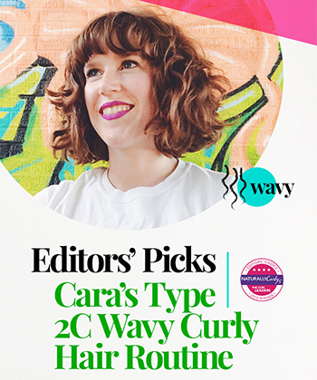 Cara's Wavy Regimen | 2018 Editors' Choice