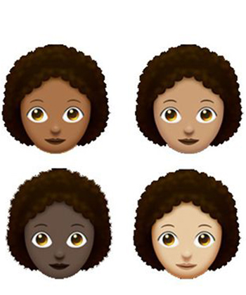 People Have Thoughts About the New Natural Hair Emoji
