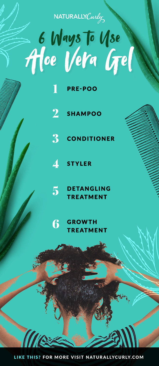 6 Ways to Use Aloe Vera Gel for Hair | NaturallyCurly.com