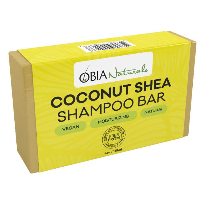 Obia Naturals Coconut Shea Shampoo Bar