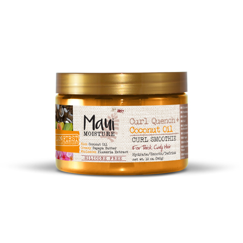 Maui Moisture Curl Quench + Coconut Oil Curl Smoothie