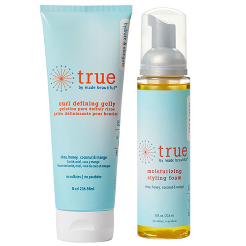 True by Made Beautiful Curl Defining Gelly & Moisturizing Styling Foam