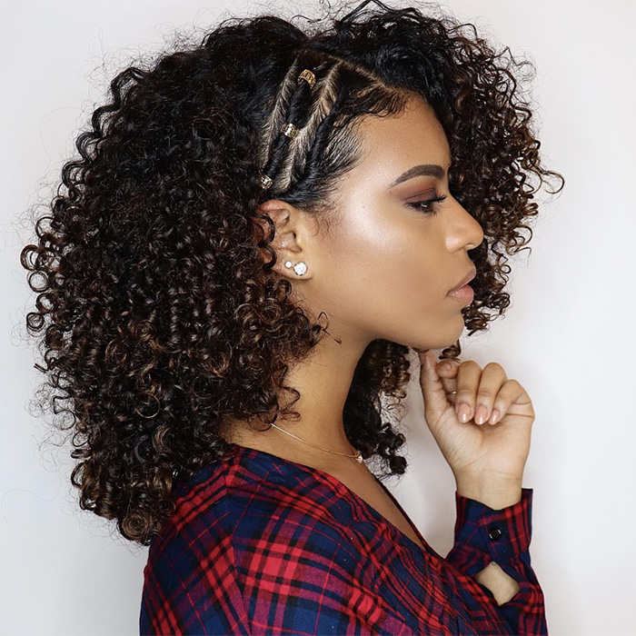 Side Swept Curls Hairstyles | NaturallyCurly.com | NaturallyCurly.com