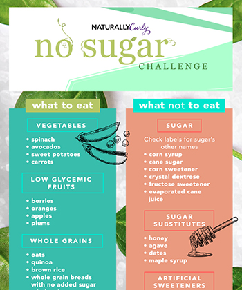 Join Our NaturallyCurly No Sugar Challenge