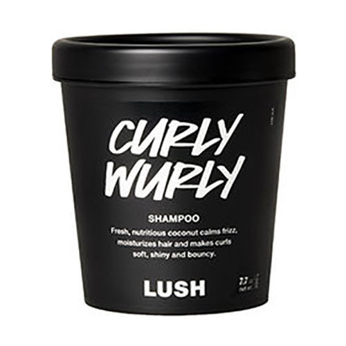 Cleansing Conditioner: Lush Curly Wurly