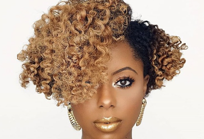 Color Me Curly: How to Dye Type 4 Hair