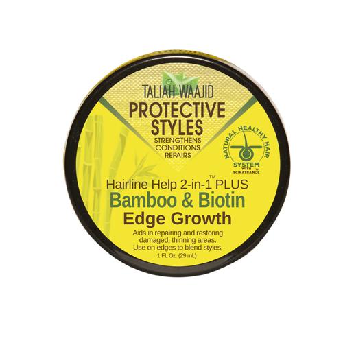 Taliah Waajid Hairline Help 2-in-1 Plus Bamboo And Biotin Edge Growth