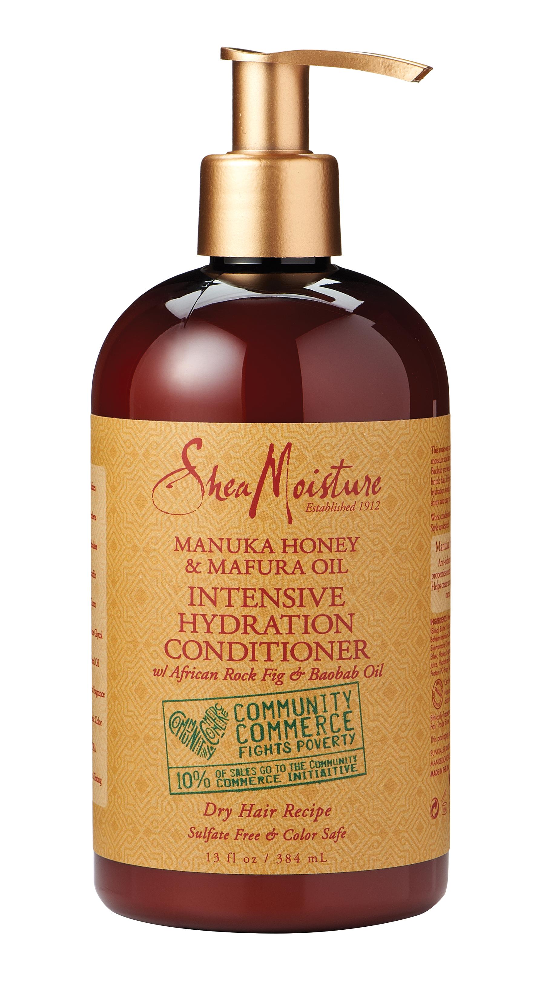 Jerly 2a: SheaMoisture Manuka Honey & Mafura Oil Hydration Intensive Conditioner