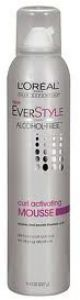 EverStyle Alcohol-Free Curl Activating Mousse