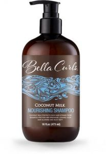 Bella Curls Coconut Milk Nourishing Shampoo (16 oz.)