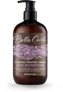 Bella Curls Coconut Whipped Creme Leave-In Conditioner (16 oz.)