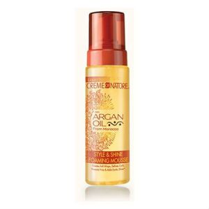 Creme of Nature Argan Oil Style & Shine Foaming Mousse (7 oz.)
