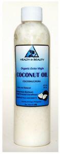 Cold Pressed Unrefined Raw Coconut Oil
