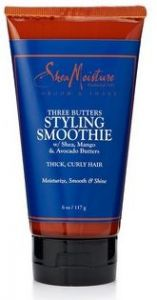 FOR MEN THREE BUTTERS STYLING SMOOTHIE