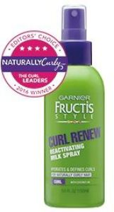 Curl Renew Reactivating Milk Spray