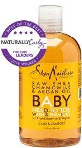 Raw Shea Chamomile & Argan Oil Baby Head-To-Toe Wash & Shampoo
