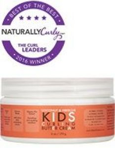 Coconut and Hibiscus Kids Curling Butter Cream