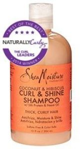 Organic Coconut & Hibiscus Curl & Shine Shampoo