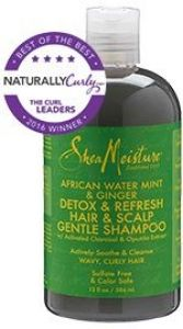 African Water Mint & Ginger Detox & Refresh Hair & Scalp Gentle Shampoo