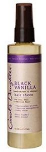 Black Vanilla Moisture & Shine Hair Sheen