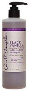Black Vanilla Sulfate-Free Shampoo
