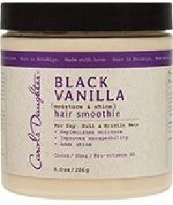 Black Vanilla Hair Smoothie