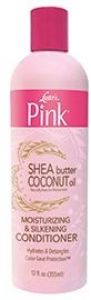 Pink Shea Butter Coconut Oil Moisturizing & Silkening Conditioner