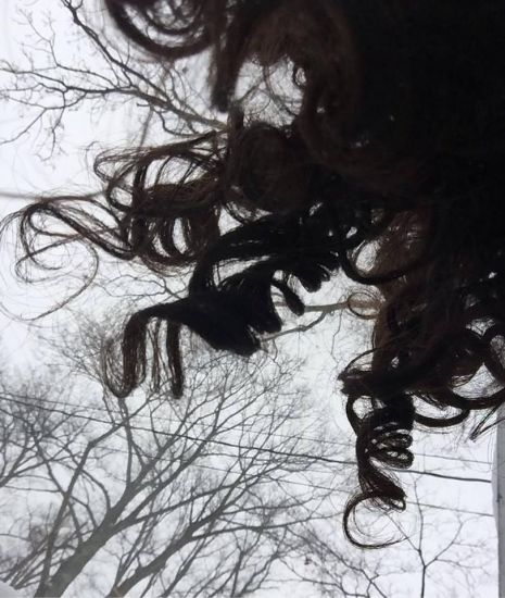 Curls. Trees. 3a Out & Loose Long Curly Hair