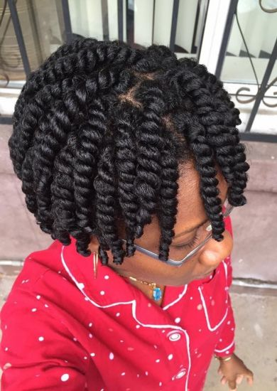 Natural 3c 4a Out & Loose Twist naturallycurly