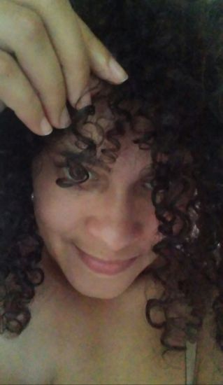 Not Two Alike 3b 3c Out & Loose Wash and Go 3b/3c hairtype Curly Hair Wash and Go