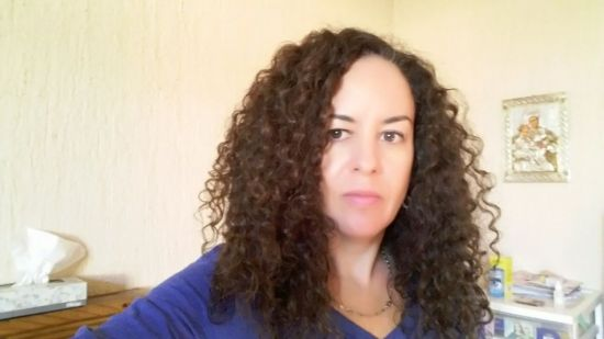 curly me 3b Out & Loose Wash and Go