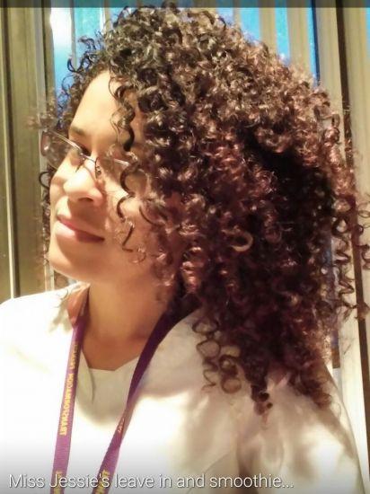 M.J. & S.M. 3b 3c Out & Loose Wash and Go Wash and Go 3b/3c hairtype scruch rake and shake Natural Hair