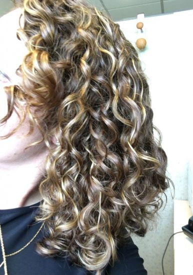 Oudad 3a/3b curls 3a 3b Out & Loose Wash and Go ouidad heat and humidity gel