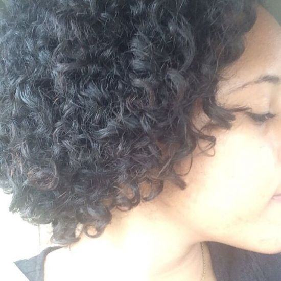 Big, fluffy curls! 3a 3b 3c Out & Loose Wash and Go Fluffy curls big curls big hair soft