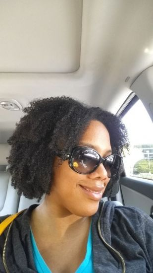 6 Day Wash and Go  3c 4a 4b Out & Loose Wash and Go wash n go coil definition Natural Hair Lovemycurls Low maintenance natural hair