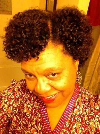 Curly Girl 3c 4a Out & Loose Flat Twist Out