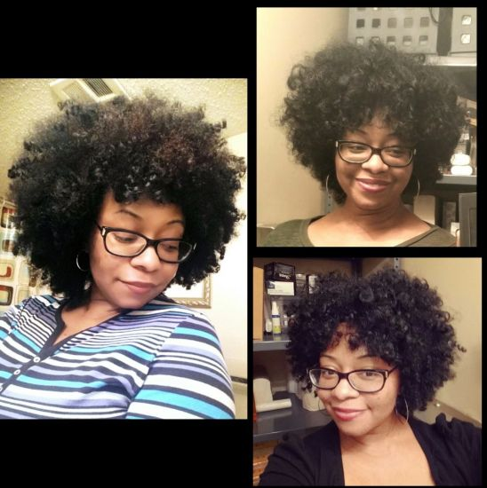 Wash n Go Fro/Growth 4b 4c Out & Loose Afro