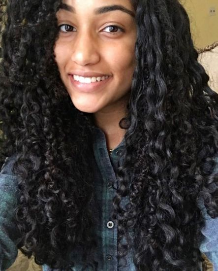 Curly Confidence  3b Out & Loose Long Curly Hair #naturalhairdaily