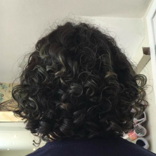 hair on fleek! 2c 3a 3b Out & Loose Wash and Go