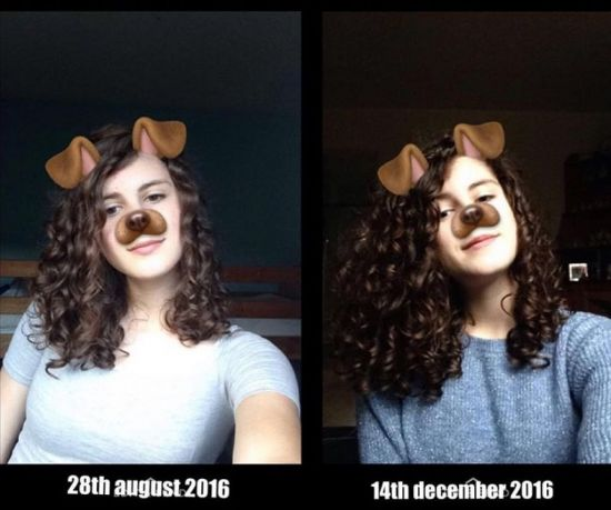 When I started the curly girl method vs now  3a Out & Loose Wash and Go