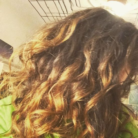 natural waves 2b Out & Loose Long Curly Hair
