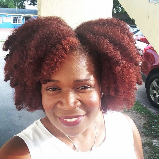 Sheamoisture Bright Auburn Twist Out 3c 4a 4b Out & Loose Flat Twist Out SOULTANICALS alikaynaturals healthyhairjourney72 #twistout Natural Hair 4chair Traceychristie howtotwistout quick natural hair styles SheaMoisture Professional #twostrandtwist