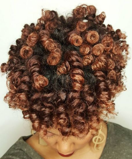 Perm rods set with flat twists 4a 4b Out & Loose Rollers & Rods